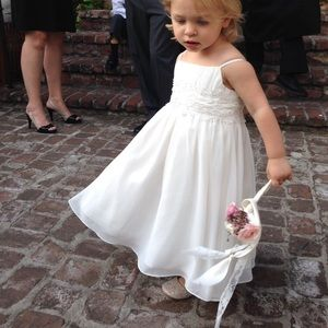 2T and 3T David's Bridal flower girl dresses